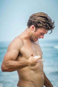 Scott Eastwood, the son of Clint Eastwood, has made quite a splash with his Town & Country shoot. But, he's just as hot in candid photos from Instagram.