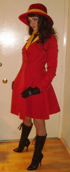 Carmen Sandiego costume - 2013 by jaimiejenkins.deviantart.com on @deviantART