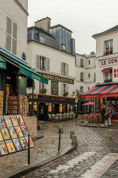 El barrio de los pintores ,París. ..