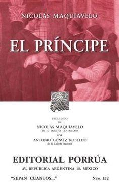 PRINCIPE,EL  MAQUIAVELO, NICOLAS BERNARDO   SIGMARLIBROS