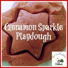 Creative Playhouse: Cinnamon Sparkle Playdough
