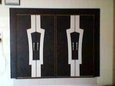 wardrobe laminate design - Google Search Wardrobe Laminate Design, Wardrobe Design Bedroom, Closet Bedroom, Bedroom Designs, Cabinet Design, Door Design, House Design, Wardrobe Systems, Bedroom Cupboards