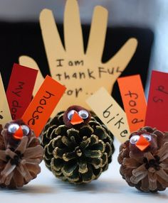 Thanksgiving Kids Table Projects | Katie Brown's Blog