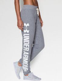 Look at this Under Armour® True Heather Gray Favorite Fleece Word Mark Boyfriend Pants on today! Under Armour Outfits, Nike Under Armour, Under Armour Pants, Under Armour Women, Under Armour Sweatpants, Sporty Outfits, Athletic Outfits, Athletic Wear, Cool Outfits