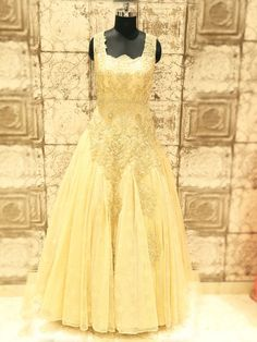Shop Golden Net Wedding Gown By G3+ Video Shopping. , To View more collection at www.g3fashion.com For price or detail do whatsApp +91-9913433322 #love #beautiful #outfit #outfitoftheday #lookoftheday #ootd #fashiongram #clothes #fashion #instafollow #luxury #style #hairstyle #photography #weddinggown #gown #instapic #fashionphotography #instafollow #colorful #gown #dress #eveningdress #pink #fabulous #black #fashionblogger#gold