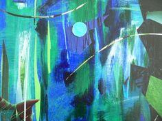 Stille - (c) Elisabeth Rütsche Collage Kunst, Collagen, Painting, Painting Art, Paintings, Draw