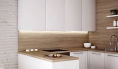 Kuchyne na mieru - LED pás aj za digestorom