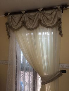 Curtains, Home Decor, Blinds, Interior Design, Draping, Home Interior Design, Window Scarf, Home Decoration, Decoration Home