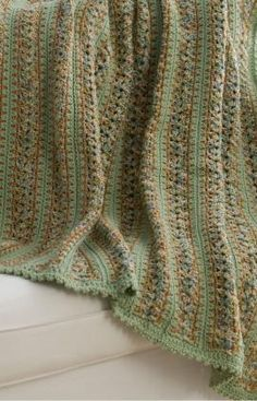 Best Free Crochet » Free Country Home Throw Crochet Pattern From RedHeart.com #184