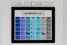 Maybe for the kitchen with meals and events Doug needs to know.... Color Calendar   The Band Wife