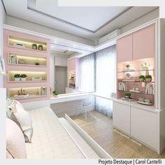 """ArquiteturadeCoração no Instagram: """"Que coisa mais linda e delicada esse quarto de menina idealizado por Carol Cantelli. •Ad♥️• facebook.com/blogarquiteturadecoracao…"""""""