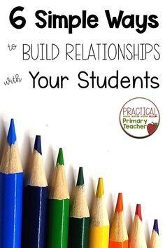 Learn some simple ways to build relationships with your students starting BEFORE day Make time to get to know your students and let them know about you! Teacher Blogs, Teacher Hacks, Teacher Resources, Classroom Management Tips, Classroom Organization, Classroom Setup, Behavior Management, Back To School Activities, School Ideas