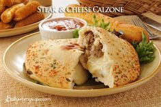 Steak And Cheese Calzone Recipe