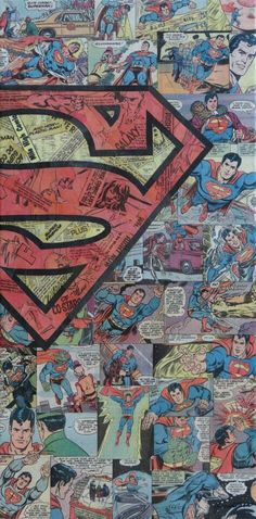 Superman collage by Mike Alcantara