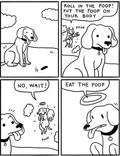 A dog's dilemma - Imgur