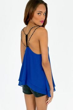 Chain Of Command Top $44   http://m.tobi.com/product/50808-tobi-chain-of-command-top?color_id=68228