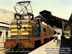 Chile, Train Stations, Electric Locomotive, American, Celebrities, Arrow, Historical Photos, Trains, Parking Lot