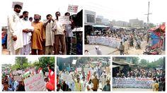 کسووال: سانحہ ماڈل ٹاؤن کی ایف آئی آر درج نہ ہونے پر پاکستان عوامی تحریک کا احتجاجی مظاہرہ - پاکستان عوامی تحریک