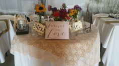 Love Lace Wedding, Wedding Dresses, Happily Ever After, Barn, Table Decorations, Home Decor, Bride Dresses, Bridal Gowns, Converted Barn