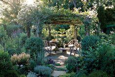 Backyard Garden Ideas 51 Front Yard And Backyard Landscaping Ideas Landscaping Designs Garden Structures, Garden Paths, Garden Arbor, Herb Garden, Garden Pool, Easy Garden, Tropical Garden, Rustic Gardens, Outdoor Gardens