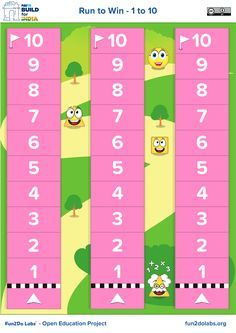 Math Games, Dice Game, 1 to 10 Counting, How to Teach Counting to Kids, How to Teach Counting to Toddlers, Learn Counting From 1 to 10, Fun Ways to Teach Counting, Counting Game for Preschoolers, Number Games for 5 Year Olds