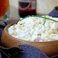 Chicken Cordon Blue Dip Made this and loved it. Instead of ham I used pancetta