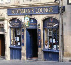Best of Edinburgh Pubs - Scotsman's Lounge 73 Cockburn Street Edinburgh