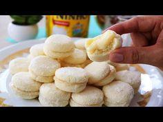 No Sugar Desserts, Dessert Recipes, Croissants, Nutella, Brazilian Dishes, Galletas Cookies, Portuguese Recipes, Cupcakes, Pasta
