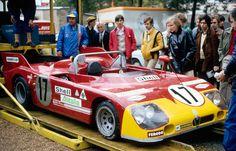 1972 LE MANS - Alfa Romeo Tipo 33TT3. Entrant: Autodelta SpA. Drivers: Vick Elford / Dr Helmut Marko (DNF).