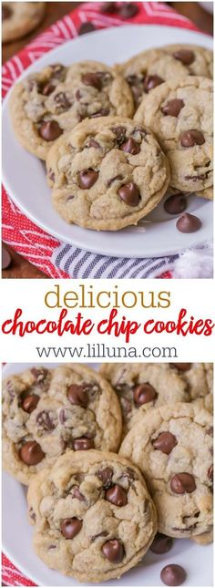 BEST Chocolate Chip Cookie recipe - so soft, so chewy and so delicious! Everyone loves this recipe.
