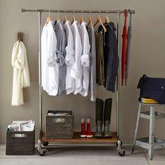 Penderie - trouver une place pour vos vêtements