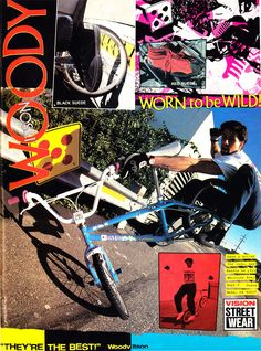 Vision Street Wear advertisement / Woody Itson (1987)