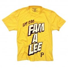 WE ARE FAM A LEE PIRATES T-SHIRT