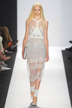 #spring2013 #trend #runway #brightwhite #white #lace #sheer