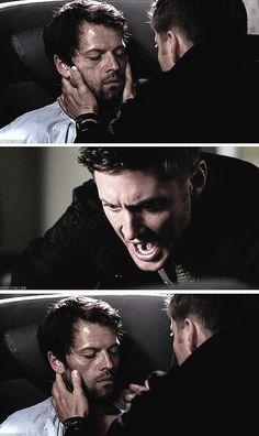 """[SET OF GIFS] """"Cas!  No, Cas.""""  9x03 I'm No Angel"""