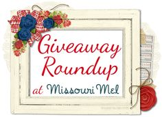 Welcome to the Giveaway Roundup! Be sure to bookmark this page and come back here regularlyto find new giveaways to enter and to add any you come across. Remember the number of the last giveaway y...