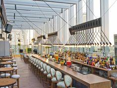 Iris Dubai lounge and restaurant Oberoi hotel