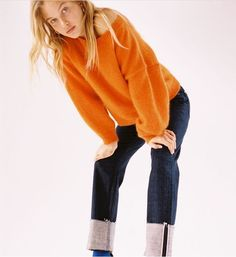 Color Naranja, Skinny Jeans, Pullover, Sweaters, Pants, Fashion, European Fashion, Fall Winter, Trends