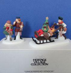 Dept 56 Gingerbread Vendor Retired Dickens by ShoppingJustForYou
