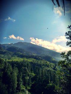 Mt. Salak (view from Halimun Salak National Park, Sukabumi, West Java, Indonesia)