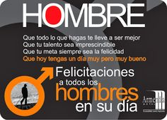 Día Internacional del Hombre - 19 de Noviembre (20 fotos) Men's Day, Dad Day, Happy Woman Day, Just Do It, Inspirational Quotes, Instagram Posts, Cordial, Ecuador, Bonsai
