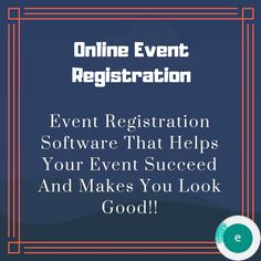 Event Registration, How To Plan, How To Make, Event Planning, Software, Management, Make It Yourself, Learning, Easy