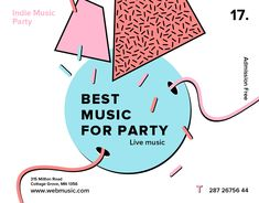 "Check out this @Behance project: ""Live Indie Music Party 