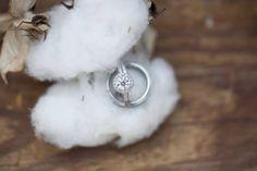 Cotton & Wedding Rings; Rustic Wedding; Southern Wedding; Oak Level Farm
