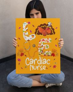 Love Cardiac Nurse Turkey Nursing Thanksgiving Aut - Gold foley catheter nursing, meningitis nursing, apgar nursing #NursingLove #nursingschool #nursingshirt