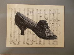 Hey, I found this really awesome Etsy listing at https://www.etsy.com/listing/185062047/vintage-shoe-print-shoe-print-on-vintage