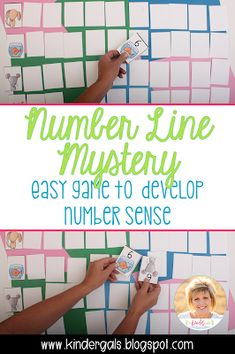 KinderGals: Building Number Sense with the Number Line Mystery Game