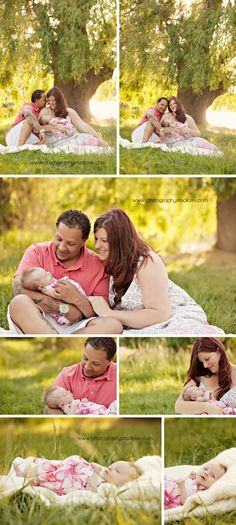 Outdoor Newborn poses| Love the tree in the background