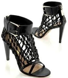 L.A.M.B. HEELS If these shoes had a string between the toes (thong).... I would die!!