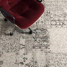 Reoriented Flor carpet tiles in multiple colors - LOVE these